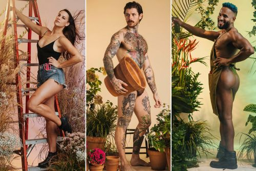 Sexy gardeners bare all in 2021 charity calendar