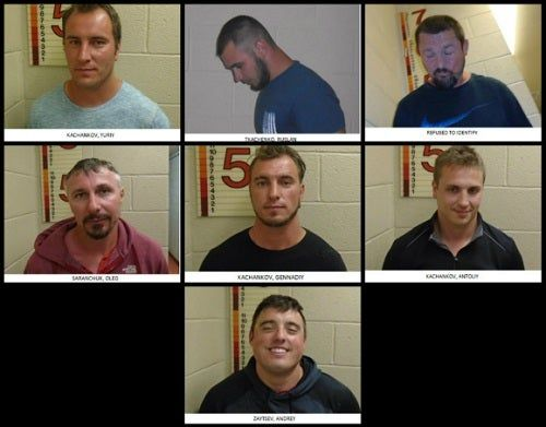 7 Men Arrested For Yelling Racial Slurs, Making Nazi Salute At Black Family