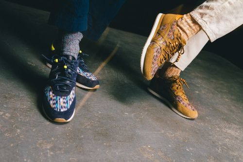 """YMC's Latest ASICS Collaboration Mixes """"Madchester"""" With Traditional Mexican Prints"""