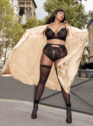 Model Precious Lee & Fleur du Mal Are Bringing Us Hot, New Lingerie With Extended Sizing
