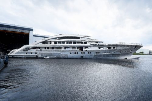 How Heesen Kept Project Cosmos on Track Through a Pandemic