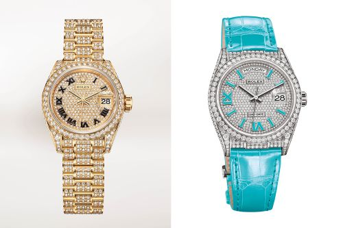 Rolex's new Oyster Perpetual women's watches dazzle with diamonds
