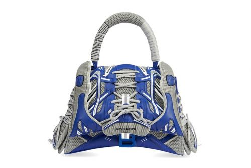 Balenciaga Targets Footwear Fans With Its Sneakerhead Top Handle Bag