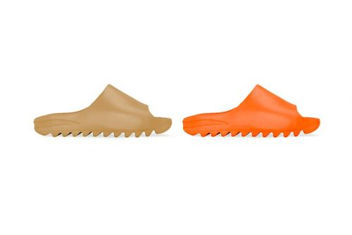 "The adidas YEEZY SLIDE Will Be Releasing in ""Core"" and ""Orange"""