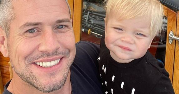 Ant Anstead Shows Off Toned Bod On A Beach Day With His Son After Christina Anstead Split