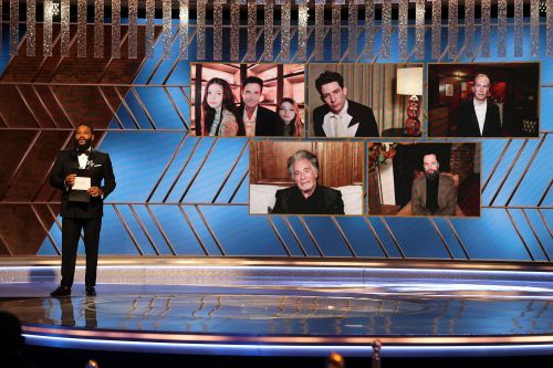 Al Pacino had viewers thinking he was asleep during 2021 Golden Globes