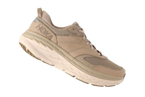 "HOKA ONE ONE Introduces the Bondi L in ""Dune/Oxford Tan"""