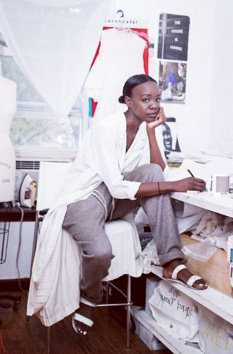 'Fashion is bathing in its dirty bathwater': Recho Omondi says it as it is