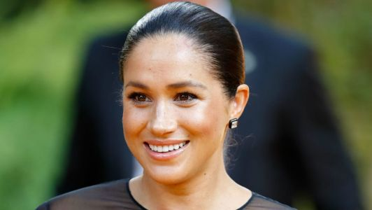 Meghan Markle Wore a Thing: Sheer Black Dress for Misha Nonoo's Wedding Edition