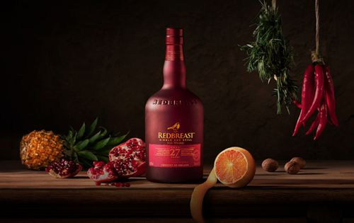 Redbreast Irish Whiskey Reveals Oldest Permanent Expression