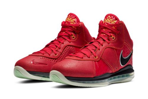 """Nike Basketball Brings the LeBron 8 """"Gym Red"""" Out of the Vault"""
