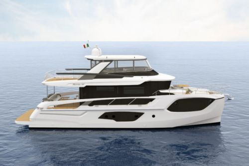 Absolute Navetta 64 Offers Stunning Aft 'Room with a View'