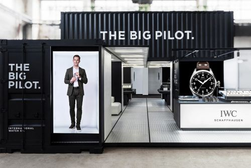 IWC Boss Beams into Watches & Wonders Shanghai Show as 4K Hologram