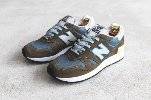 A Closer Look at New Balance's Made-in-Japan 1300 Sneaker