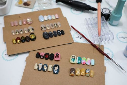 Salon Paints Squid Game Manicures Including Tiny coffins, Green Tracksuits, and More
