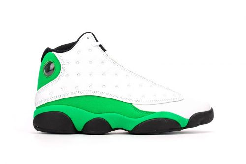 Air Jordan 13 Surfaces in Ray Allen PE-Esque White and Green Colorway