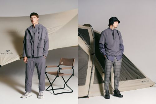 Snow Peak Links With BEAUTY&YOUTH for Monochrome Outerwear Capsule