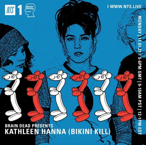 Riot grrrl Kathleen Hanna drops a new mix for NTS Radio