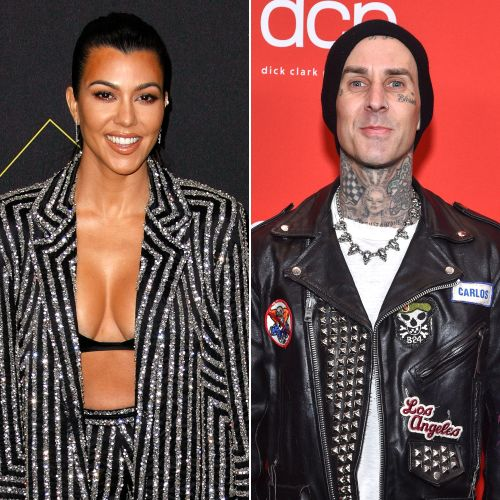 Are They? Kourtney Kardashian and Travis Barker Spark Dating Rumors During Trip to Palm Springs