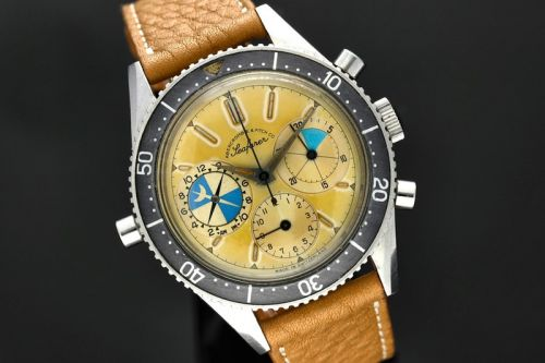 Sotheby's Lists Rare Abercrombie & Fitch-Signed Heuer Ref. 2446 Watch
