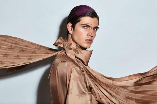 Lucas Prada Goes Glam for L'Officiel Lithuania Beauty Story