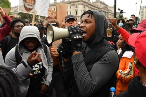 John Boyega Delivers Powerful Speech at London BlackLivesMatter Protest