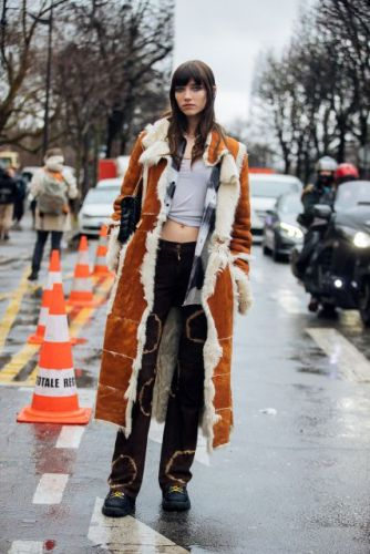 See what the models are wearing off-duty in Paris! Day 3