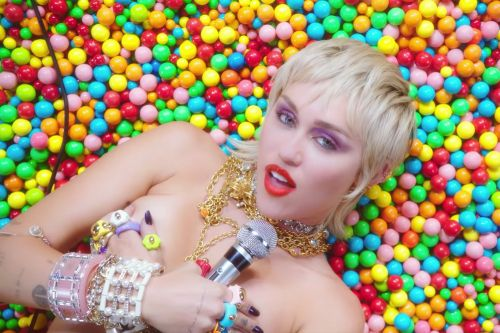 Watch Miley Cyrus' sexy self-directed video for 'Midnight Sky'