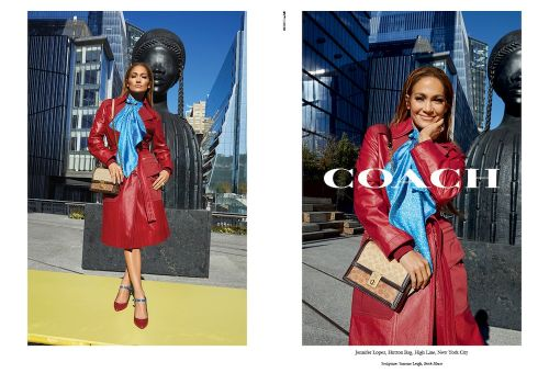 "JLo and Michael B. Jordan Star In The New Coach Campaign - ""Originals Go Their Own Way"""
