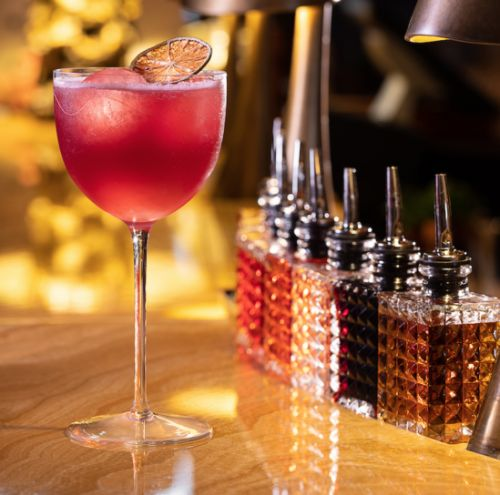 Cocktail of the Week: Pretty in Pink at Concorde Terrace