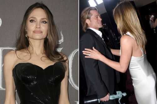 The Post goes 'inside' Angelina Jolie's head to get her 'thoughts' on Brad Pitt and Jennifer Aniston