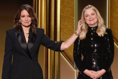 Mysterious hand model who pet Amy Poehler at Golden Globes 2021 revealed