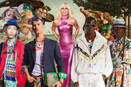 "Donatella Versace Has the Formula for a ""Pandemic-Proof"" Brand"