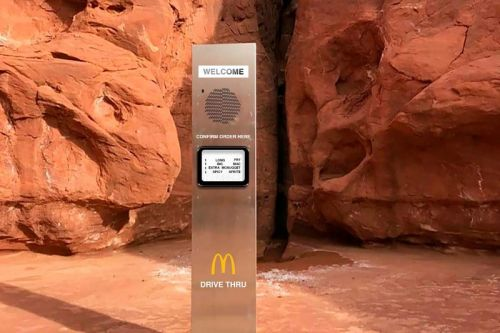McDonald's Pokes Fun at the Monolith With Drive Thru Tweet