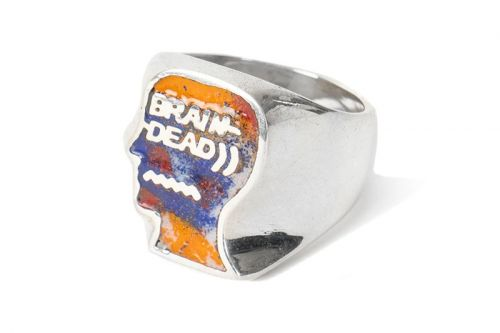 Brain Dead Emboldens Logo With Finely Crafted Silver Rings