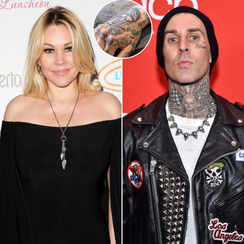 Shanna Moakler Claims Ex Travis Barker Covered Her Initials With New Skull Tattoo: 'Weird'