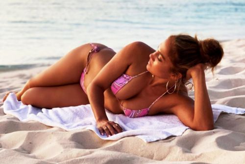 Jennifer Lopez is 'feeling golden' in $400 pink bikini
