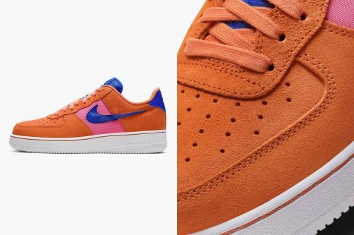 """Nike's Air Force 1 '07 LV8 Gets Spring-Ready """"Orange Trance"""" Makeover"""