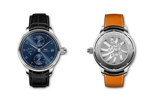 IWC Celebrates the Laureus World Sports Awards With Limited-Edition Monopusher