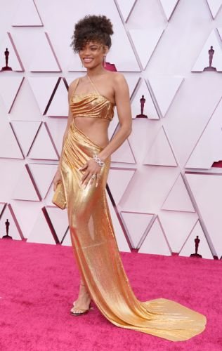 Oscars 2021 red carpet in pictures: from Carey Mulligan to Daniel Kaluuya