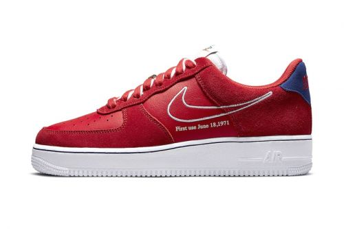 "Nike's New Air Force 1 ""University Red"" Is an Homage to the Silhouette's Heritage"