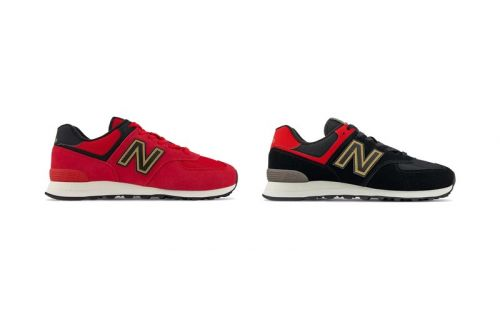 New Balance Continues CNY Celebrations with Two Festive 574s