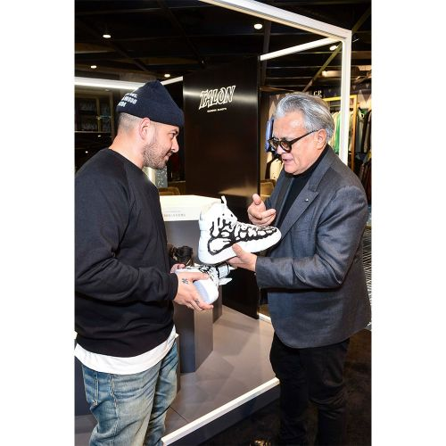 Ten Meets Giuseppe Zanotti at the Launch of His New Trainers at Flannels