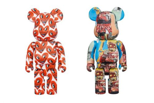 Medicom Toy Immortalizes Keith Haring and Jean-Michel Basquiat Artwork