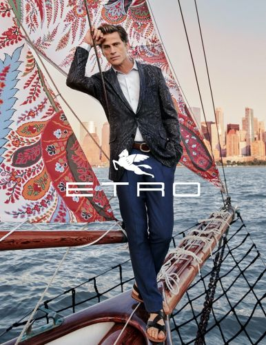 Mark, Alton & James are Nomads for Etro Spring '20 Campaign