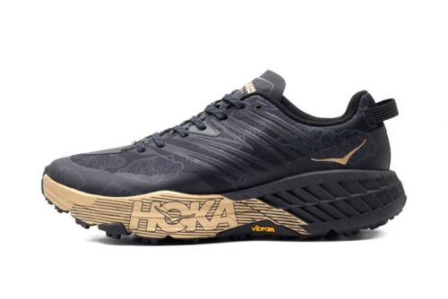 "HOKA ONE ONE's Speedgoat 4 Receives ""Black/Gold"" CNY Makeover"