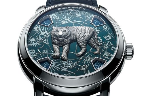 Vacheron Constantin Gears up for Year of the Tiger With Métiers d'Art Watch