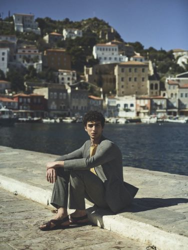 Qaher Harhash Sports Neutrals for Theory Spring Campaign