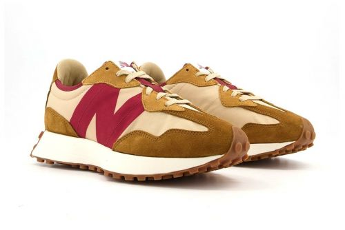 Tom Sachs' Iconic Mars Yard Shoe May Have Inspired This New Balance 327 Colorway