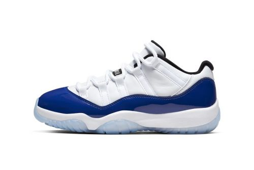 """Air Jordan 11 Low """"Concord Sketch"""" Gets Official Look and Release Date"""